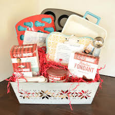 baking gift basket 3 diy gift basket ideas