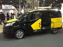 nissan nv200 taxi nissan e nv200 was best selling electric van in europe in 2016