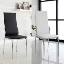 White Leather Kitchen Chairs Leather Dining Room U0026 Kitchen Chairs Shop The Best Deals For Dec