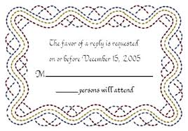 Wedding Reply Cards Wedding Invitations And Response Cards Wedding Invitations And
