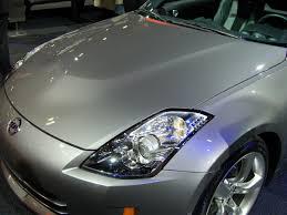 nissan 350z engine cover oem 350z hood z1 motorsports