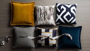 Cushions Velvet Luxdeco Velvet Grainger Cushions Indigo Blue Buy Online At Luxdeco