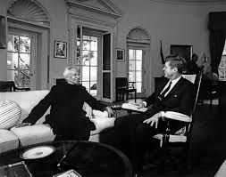 file president john f kennedy with indian president sarvepalli
