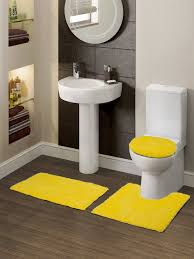 Yellow Bathroom Rugs Myntra Spaces Contour Set Of 3 Yellow Bath Rugs At Rs 747