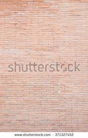 Pink Brick Wall 3d Illustrated Seamless Tile Brick Wall Stock Illustration