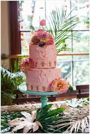 Tropical Themed Wedding Cakes - tropical themed wedding inspiration natural wedding photographer