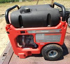 coleman powermate 5 500 watt generator item ae9769 sold