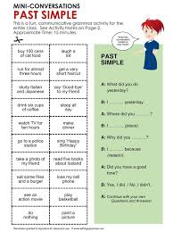 best 25 simple past tense ideas on pinterest to be past tense