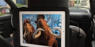 support tablette voiture entre 2 sieges divertissement aux places arrière tcs suisse