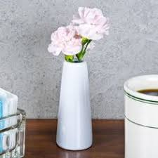 White Ceramic Jug Vase American Metalcraft Bvjgg4 2