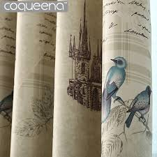 Vintage Style Kitchen Curtains by Online Get Cheap Vintage Style Curtains Aliexpress Com Alibaba