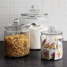 glass kitchen canister unique large glass kitchen storage jars