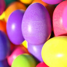 large easter eggs large of different colorful easter eggs stock photo image