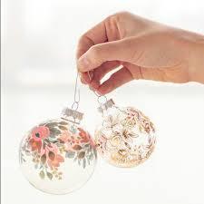 decorations paper baubles diy tree