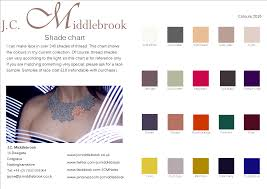 colour of 2016 lace colours jc middlebrook