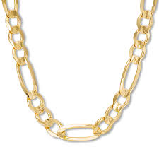mens figaro chain necklace images Men 39 s figaro chain necklace 14k yellow gold 22 quot length 713843100 jpg