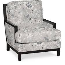 Floral Accent Chair Classic Denim Floral Accent Chair Quincy Rc Willey Furniture Store