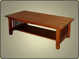 Craftsman Coffee Table Impressing Coffee Table Mission Solid Wood Tables On Craftsman