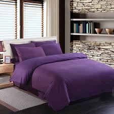 Plum Bedding And Curtain Sets Purple Duvet Cover Double Roselawnlutheran