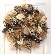 every day wreath for front door burlap wreath ideas door
