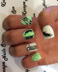 dream catcher nail designs nails pinterest dream catcher