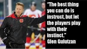 Soccer Hockey Meme - glen gulutzan hockey sense overrides positioning ice hockey tips