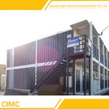 40 feet container house modern prefab house portable storage