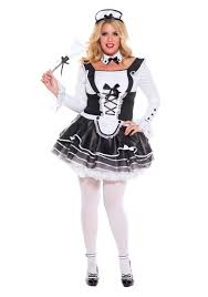 French Maid Halloween Costume Women U0027s Size Pretty Proper French Maid Size