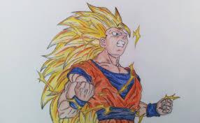 drawing goku ssj3 youtube