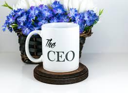the ceo mug boss gift entrepreneur gift coffee mug