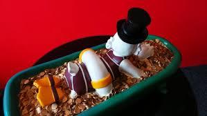 Bathtub Full Of Ice Disney Figurine Scrooge Mcduck Swimming In A Bathtub Full Of