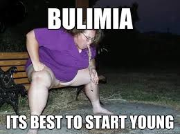 Young Girl Meme - bulimia its best to start young bulimic girl quickmeme