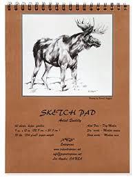 artist quality sketch pad with free bonus ebook to develop basic