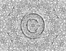 printable intricate free coloring pages on art coloring pages