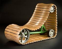 Chair Designs Tank Tread Moving Chair Design You Would Never Be Bored With