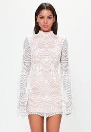 white lace dress lace dresses sleeve lace dresses missguided australia
