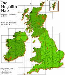 map uk ireland scotland megalith map mega map browser ancient in scotland