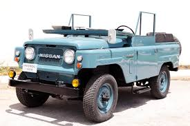 jonga jeep nissan patrol l60 introduced in 1960 nissan patrol l60 with its