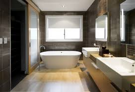 wonderful large glass window beside bathtub and large mirror ideas