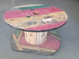 touret bois deco touret table basse elegant table basse bar en touret with touret