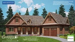 lodge house plans lake lodge cottage house plan house plans by garrell associates inc