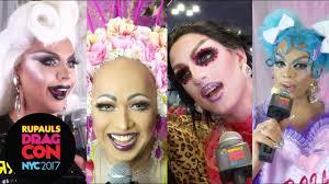 drag queens react