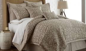 neutral colored bedding 8 piece neutral comforter set groupon goods
