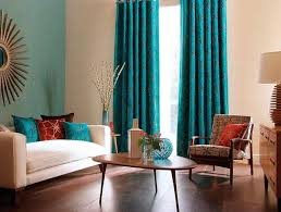 Turquoise And Curtains Extraordinary Turquoise Curtains For Living Room In Home Decor For