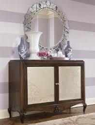 Jessica Mcclintock Dining Room Furniture American Drew Jessica Mcclintock Couture Nine Piece Mirrored Leg