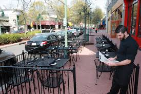 Restaurant Patio Planters by Restaurant Patio Fence