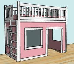 free woodworking plans to build a low loft bunk bed www