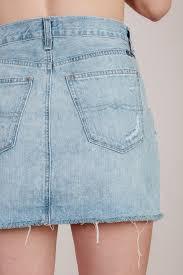 light wash denim skirt kenzie denim skirt for elyse