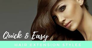 different hairstyles with extensions best quick easy hairstyles with hair extensions 10 styles