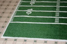football field area rug rugs decoration